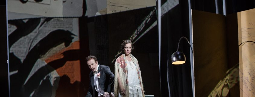 Agneta Eichenholz (Lulu), Christopher Lemmings (Marchese) Foto: Yasuko Kageyama/Opera Roma